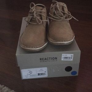 New boys reaction Kenneth Cole shoe size 12